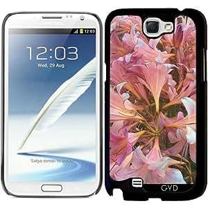 Funda para Samsung Galaxy Note 2 (GT-N7100) - Amaryllis Belladona by Blooming Vine Design