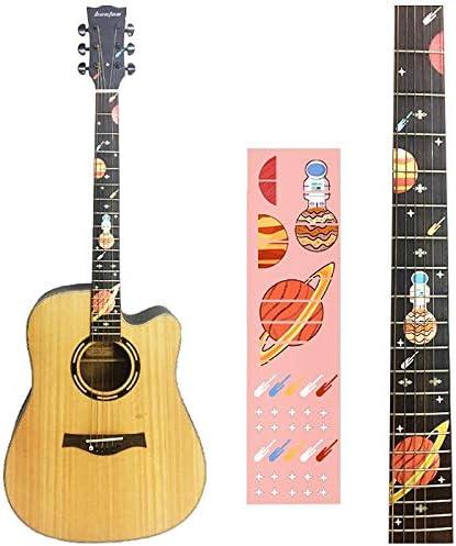 DIY Spark Guitarra Diapasón Incrustaciones Pegatinas para Guitarra ...