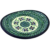 Polish Pottery Saucer 8-inch Sweet Violet