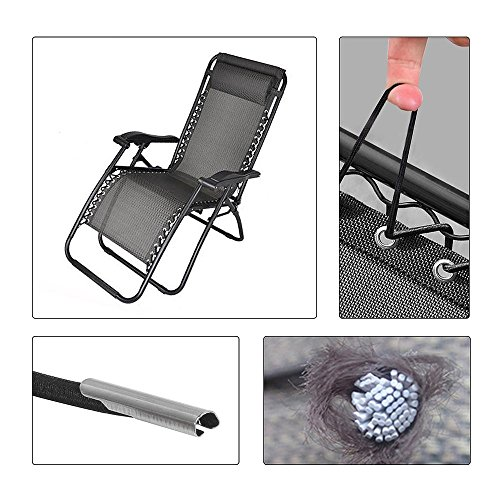4 Cords Zero Gravity Style Chair Universal Replacement