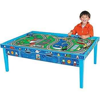 Learning curve thomas and friends wooden for 100 piece cityscape train set and wooden activity table