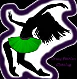Uv Green Tutu Skirt Basic Party Emo Dance Rave Hen