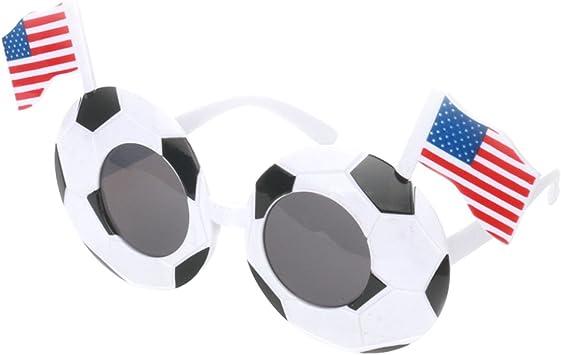 TOYMYTOY Gafas de Sol de Fútbol para 2018 Copa del Mundo Gafas de ...
