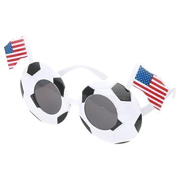 LUOEM Gafas de sol de fútbol Fiesta para niños favorece a las ...