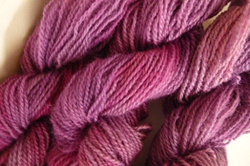 (Light Burgundy Purple 100% Wool Sports Weight Yarn)