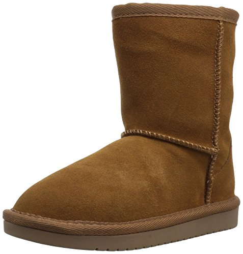(Koolaburra by UGG Girls' Koola Short Fashion Boot, Chestnut, 01 Youth US Little Kid)