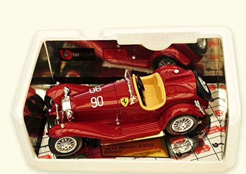 Burago Alfa Romeo 8C 2300 Spider (1932) 1:18 Die Cast Special Collection Scale Model (2300 Spider)
