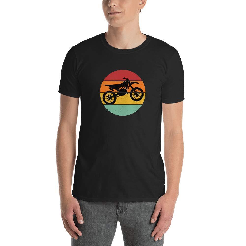 Motocross Retro Vintage Color Shirt MX Dirt Bike Rider T Shirt Gift