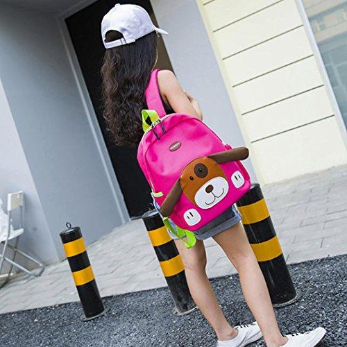 Kids EUzeo Bags Boys School Pattern Girls Dog Baby Pink Backpack Bag Hot Toddler Cartoon 4tqtCw