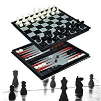 Chess Checker and Backgammon Set 3 in 1