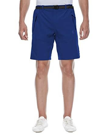 33f8d19f33 Amazon.com: TOPSUN Mens Outdoor Quick Dry Nylon Shorts with Cargo Zipper  Pockets for Hiking Travel: Clothing