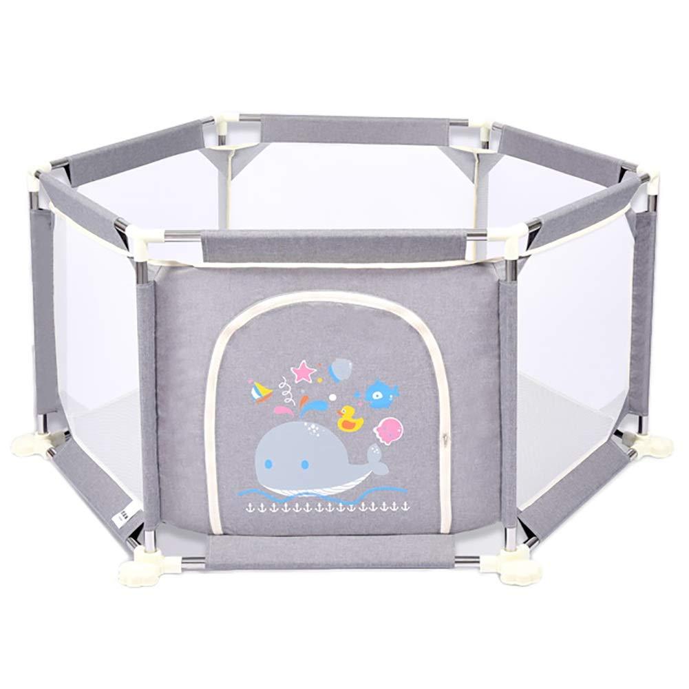 最高の品質の ポータブルプレイペン子供安全フェンスアクティビティセンター、赤ちゃんと子供、屋内と屋外のプレイ、73 Cm高い (色 Gray) (色 : Gray) Gray : B07KRC2YY7, 翌日発送の名作屋:3fe25c2a --- a0267596.xsph.ru