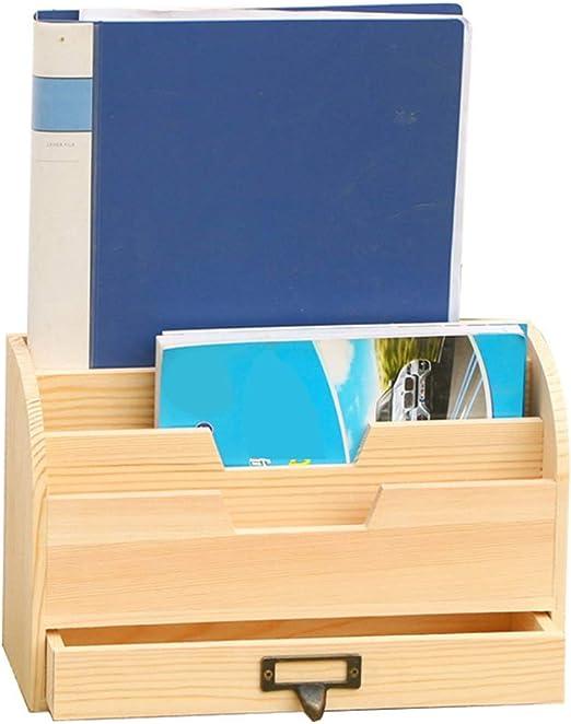 Revistero de malla Caja de almacenamiento de cajón de escritorio ...