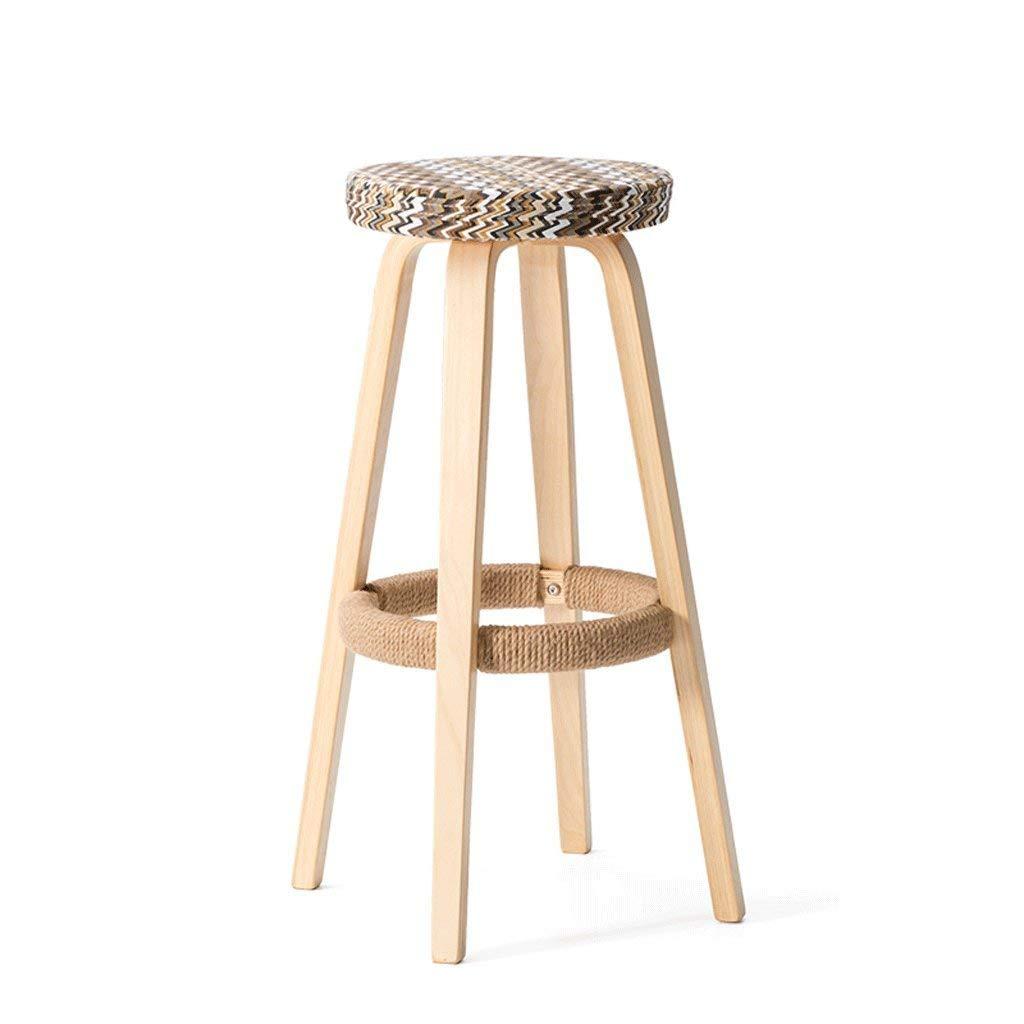 A Pack of 3 Xueshengshangmaoo Household Practical stools European stools Footstools Easy stools Change shoes stools Joker stools Bedroom stools Creative stools Wood Bar Stool Indoor Outdoor