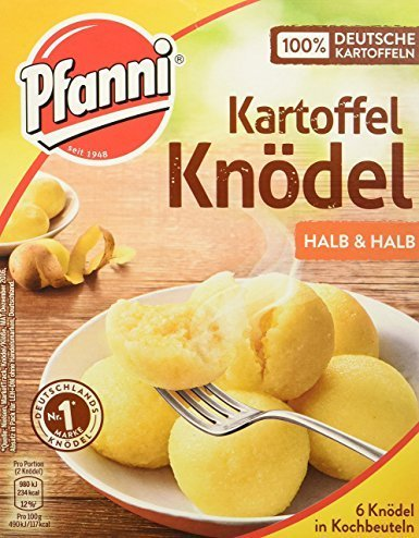 (Pfanni Potatoe Dumplings (Kartoffel Knoedel) 6 Bags 190g )
