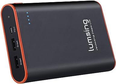 Lumsing® Batería externa 13400mAh, Cargador portátil externo ...