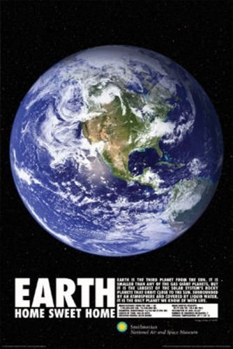 Smithsonian Earth Poster 24 x 36in ()