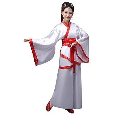 YONG SENG Chino Antiguo Hanfu para Mujer - Tradicional ...