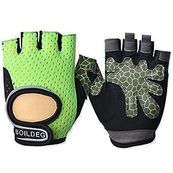 f3f2b167d151a6 Anti-Rutsch Workout Handschuhe für Herren & Damen Handschuhe Fitness Gym  Handschuhe Gewichtheben Handschuhe Gewicht