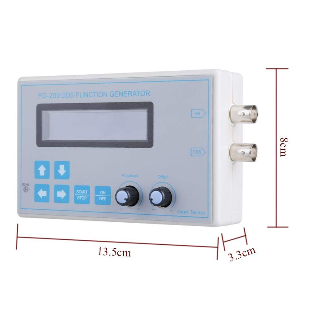 DDS Function Signal Generator DDS Function Signal Generator Sawtooth Triangle Sine Wave Touch Button EB