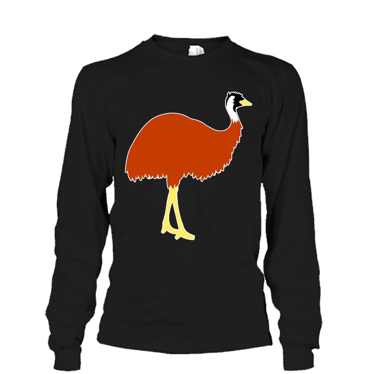 Emu Cool Tshirt Love Emu Emoji Tee Shirt Design for Men and Women