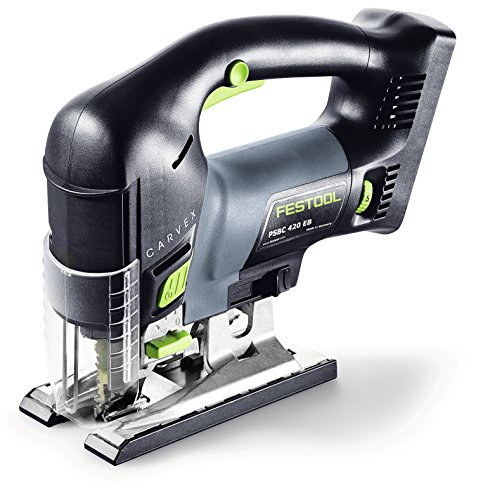 Festool 561690 Carvex PSC 420 EBQ Lithium Ion Cordless Jigsaw For Sale