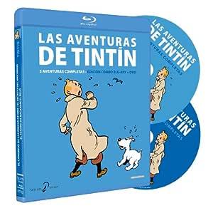 Tintin 3 Aventuras Integrales Edición Blu Ray Combo Vol.3