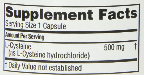 Twinlab L-Cysteine 500mg, 60 Capsules (Pack of 2) by Twinlab (Image #1)
