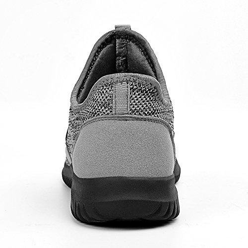 36 Entraînement Qansi Homme 44 Femme Fitness De Chaussure Basket Trail Sneaker Light Pink Noir Chaussures Sport Running Grey1 Léger Respirante Confort Rouge Lacet gg7aq