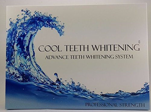 Cool Teeth Whitening Kit (10) Syringes of 44 Carbamide Peroxide Gel - (1) LED Accelerator Light - (2) Trays - (1) Shade Guide - (1) Instructions Sheet - at Home Tooth Whitener Products