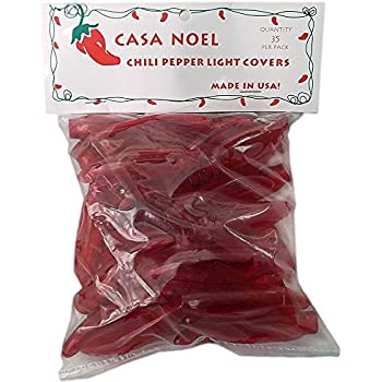 Amazon Com Red Chili Pepper Christmas Light Covers Set Of