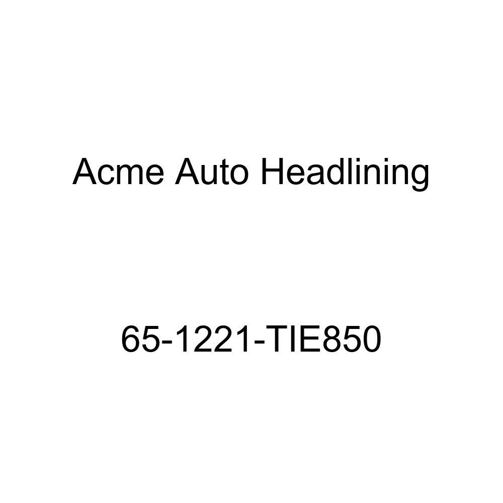 Oldsmobile F85 2 Door Coupe /& Hardtop 5 Bows Acme Auto Headlining 65-1221-TIE850 Dark Red Replacement Headliner