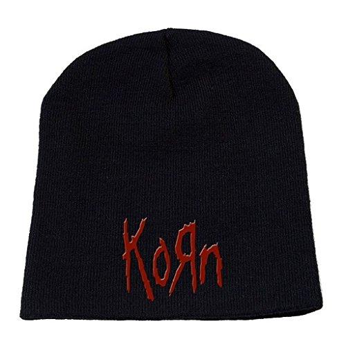 Korn Embroidered Logo Beanie Hat Cap ()
