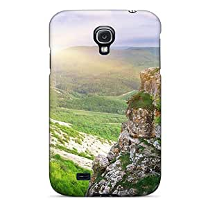 New Diy Design Nature Other Forest Valley For Galaxy S4 Cases Comfortable For Lovers And Friends For Christmas Gifts