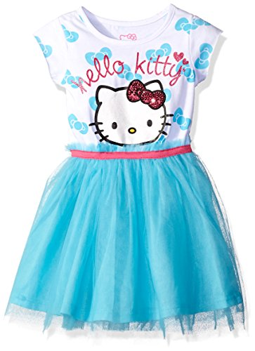 Hello Kitty Girls' Little Embellished Tutu Dress, Capri, -