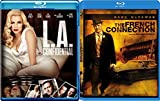 L.A. Confidential & The French Connection Blu Ray 2 Pack Love & Mystery Movie Set