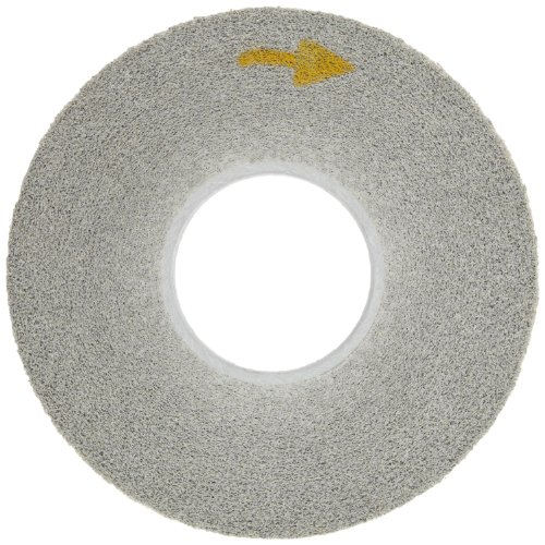 Scotch-Brite(TM) EXL Deburring Wheel, Silicon Carbide, 3000 rpm, 12 Diameter x 1 Width, 5 Arbor, 9S Fine Grit (Pack of 1) by Scotch-Brite