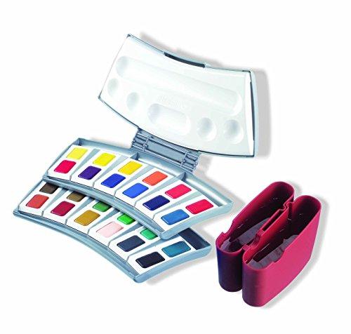 Pelikan Transparent Watercolor Paint Set, 24 Colors (721894) ()