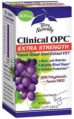 Terry Naturally Clinical OPC Extra Strength, (400 mg) - 60 softgels