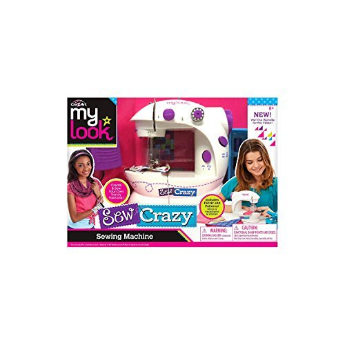Cra Z Art MY LOOK Sew Crazy Sewing Machine by My Look