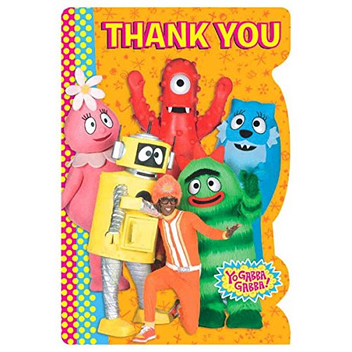 Thank You Cards | Yo Gabba Gabba Collection | Party -