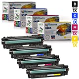 AZ SUPPLIES | 20% more Print Yield | 4-Pack Compatible with HP 6487/648A CE260A, CE261A, CE262A, CE263A for Color LaserJet CP4025 CP4525, CM4540 MFP, CP4525xh, CP4025n, CP4525n, CP4025dn, CP4525dn