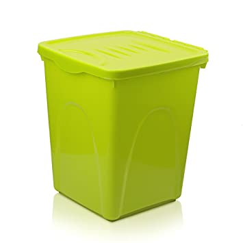 Petphabet THE BEST Airtight Pet Food Storage Container With Wheels, Up To  30 Pounds Storage