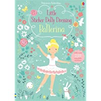 Usborne Books Little Sticker Dolly Dressing Ballerinas