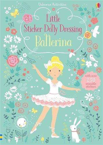 Usborne Books Little Sticker Dolly Dressing Ballerinas ()