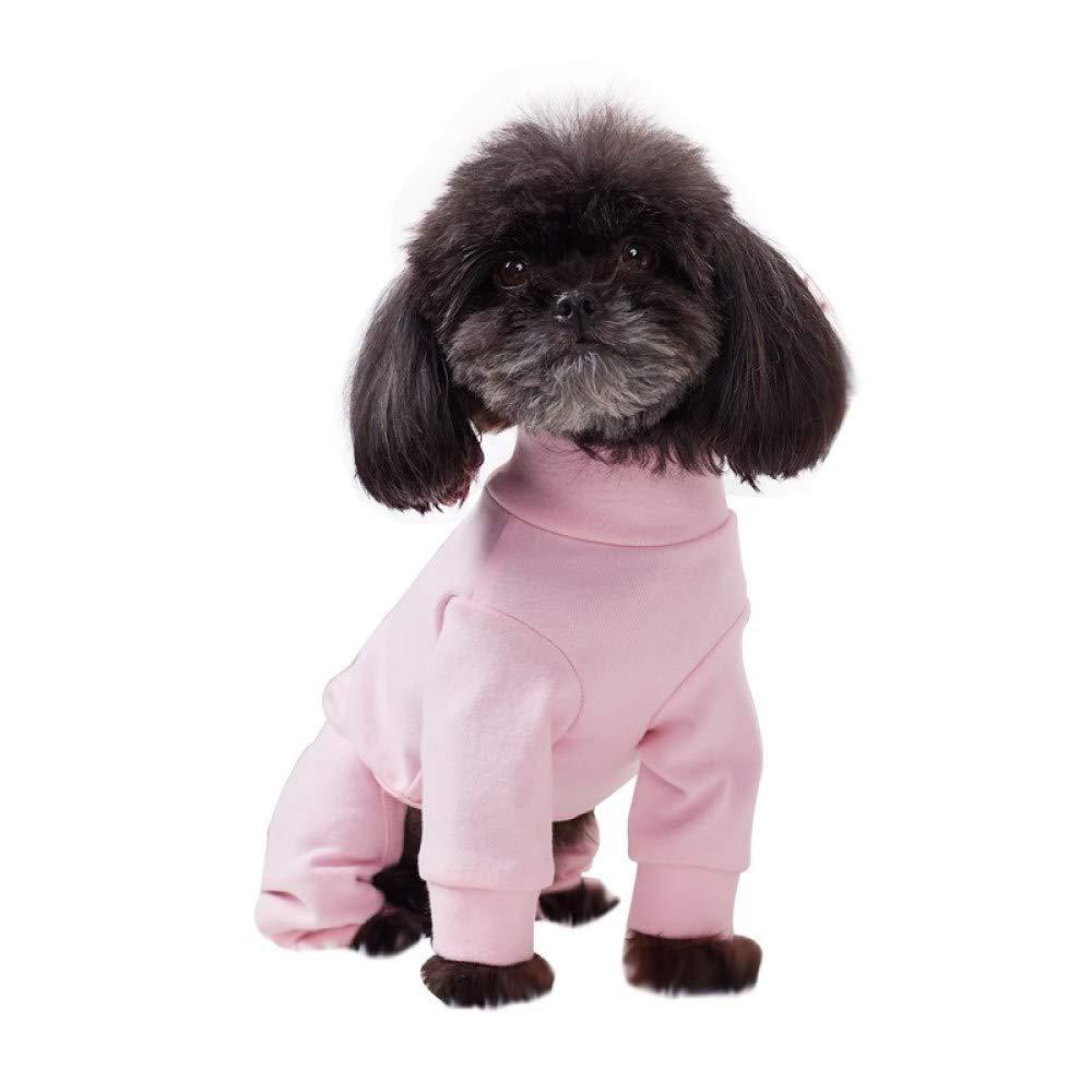 promozioni di squadra JHC Vestiti per Cani Vestiti in in in Tinta Unita A Quattro Zampe, Leggings in Cotone, Vestiti Autunnali E Invernali Adatti per Busto 29-55cm (rosa, S, M),rosa-XL  godendo i tuoi acquisti