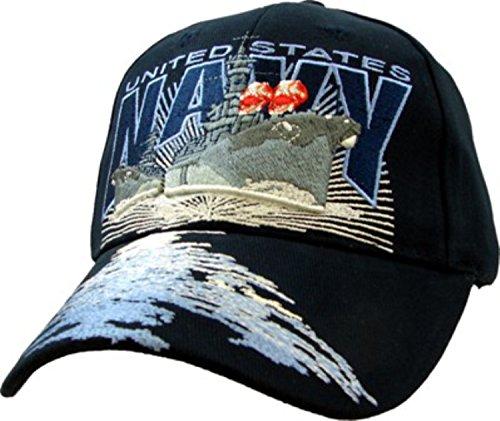 U.S. Navy Destroyer Ball Cap,Black,Adjustable