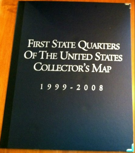 First State Quarters of the United States Collector's Map 1999-2008 2005 Map