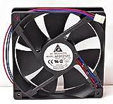 Delta 23-1225-06 120 x 120 x 25 mm. Ball Bearing Fan With Lock Motor Sensor