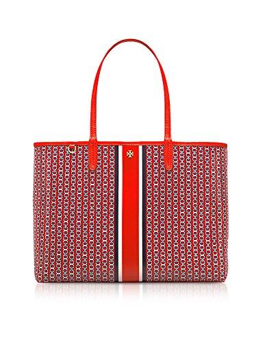 Tory Burch Borsa Shopping Donna 33801640 Canapa Rosso
